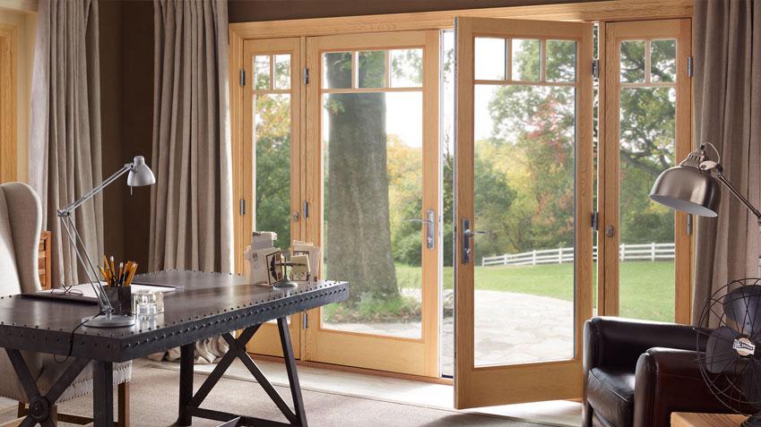 french inswing fiberglass doors